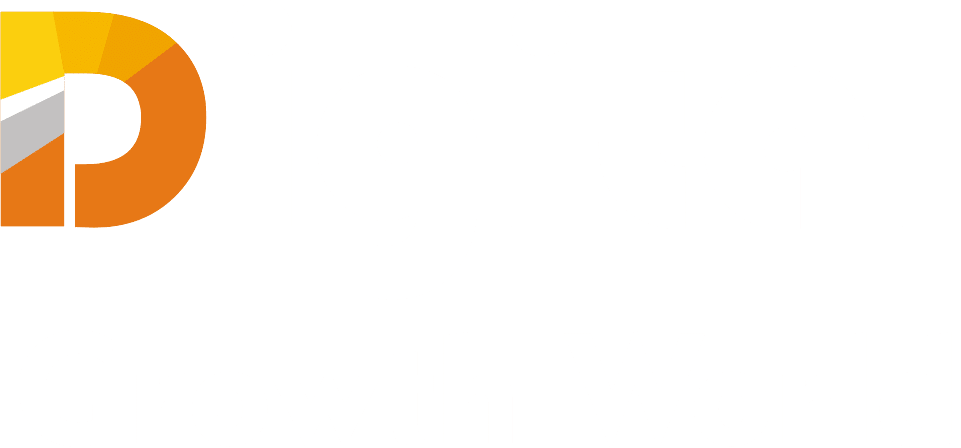 Digital Growth World Logo White