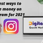 10 best ways to make money on Instagram for 2021
