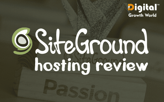 SiteGround Site Overview